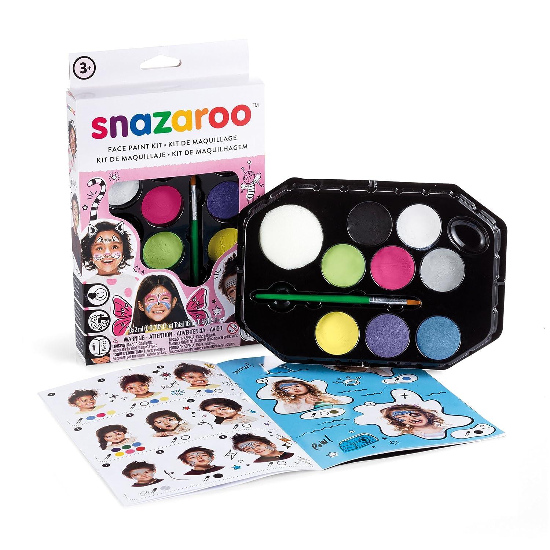 snazaroo sz fantasy face paint palette kit