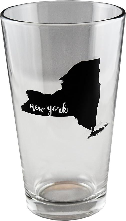 Amazon Com Holiday Sale New York Pint Glass 16 Oz Pint Glass