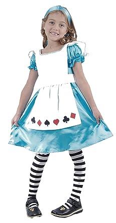 Amazon.com: Niño Alice Disfraz Niñas Tamaño Edad 7 – 9: Clothing
