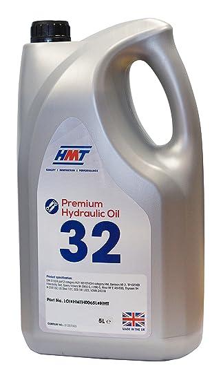 HMT HMTH006 Premium Hydraulic Oil 32-5 Litres - ISO VG 32