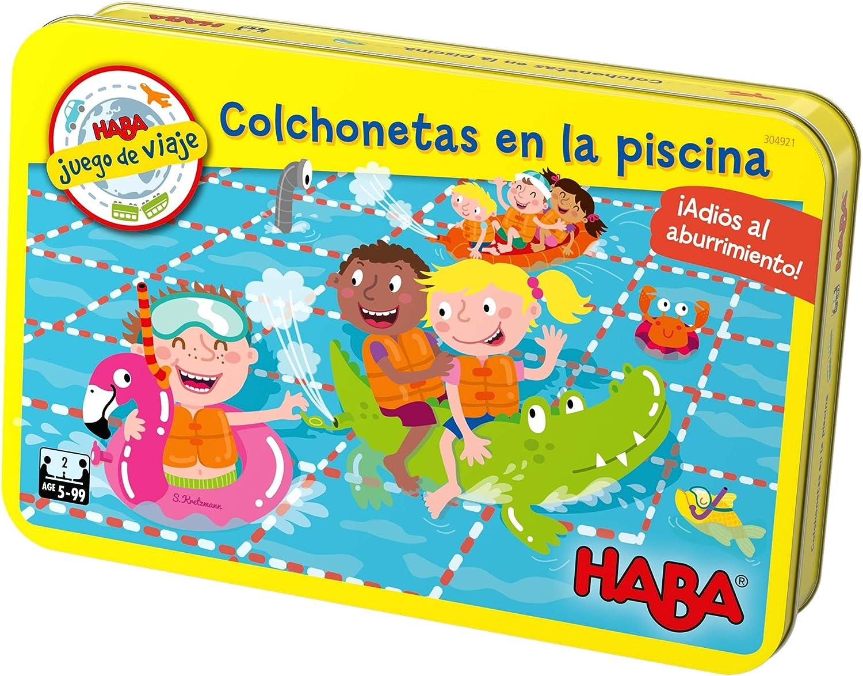 HABA- Juego de Mesa, Colchonetas en la Piscina, Multicolor ...