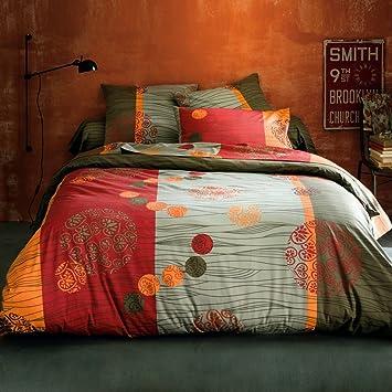 La Redoute Interieurs Zebra Bettwäsche Afrika Style Prints Orange