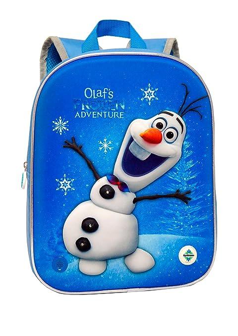 Disney Mochila Frozen Una Aventura De Olaf 3D con Luz Y Sonido 24 X 32 X