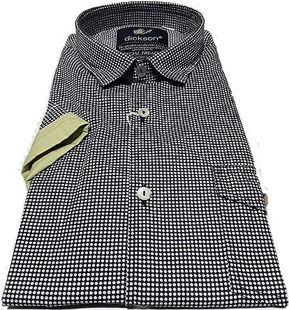 DICKSON - Camisa Casual - para Hombre: Amazon.es: Ropa y ...