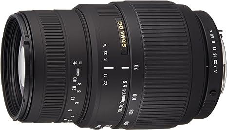 Sigma70-300mm F4-5.6 DG Macro - Objetivo para cámara réflex ...
