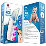 Nasal Aspirator: Best Baby Nasal Aspirator On Amazon! Quickly and Safely Removes Boogers & Mucus. Free Shipping For Amazon Prime Members and meets FDA Standards - FDA Approved. Includes 2 Adjustable Soft Tips. One Year No Hassle Warranty.