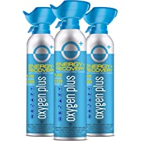 Oxygen Plus Fda-Registered Facility-Filled 99.5% Pure Recreational Oxygen Cans - O+ Biggi 3-Pack - Each Portable Oxygen…