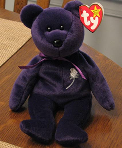 f7e6c434edd Image Unavailable. Image not available for. Color  First Edition Princess  Beanie Baby by Ty ...