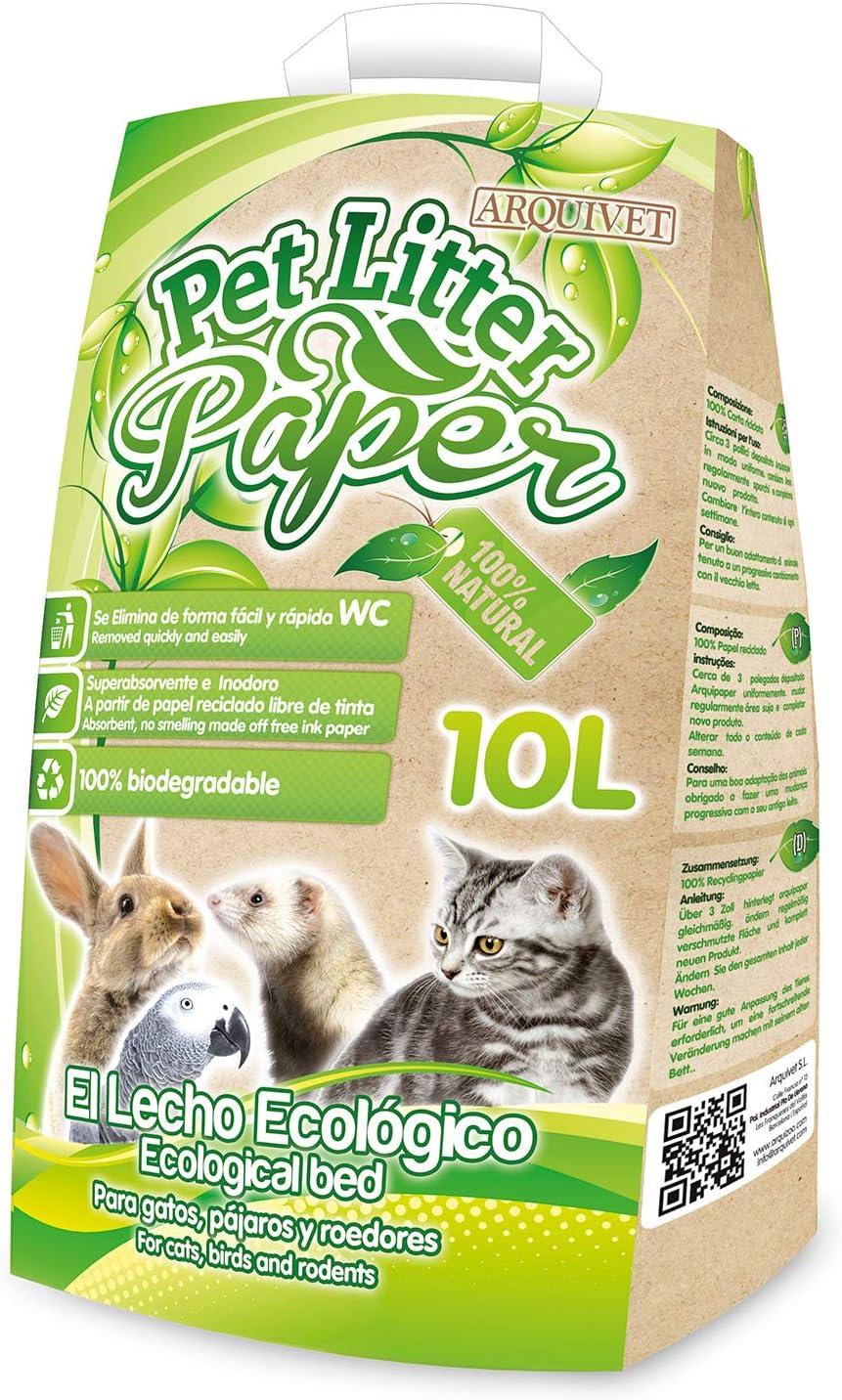 Arquivet 8435117840003 Pet Litter Paper 10l