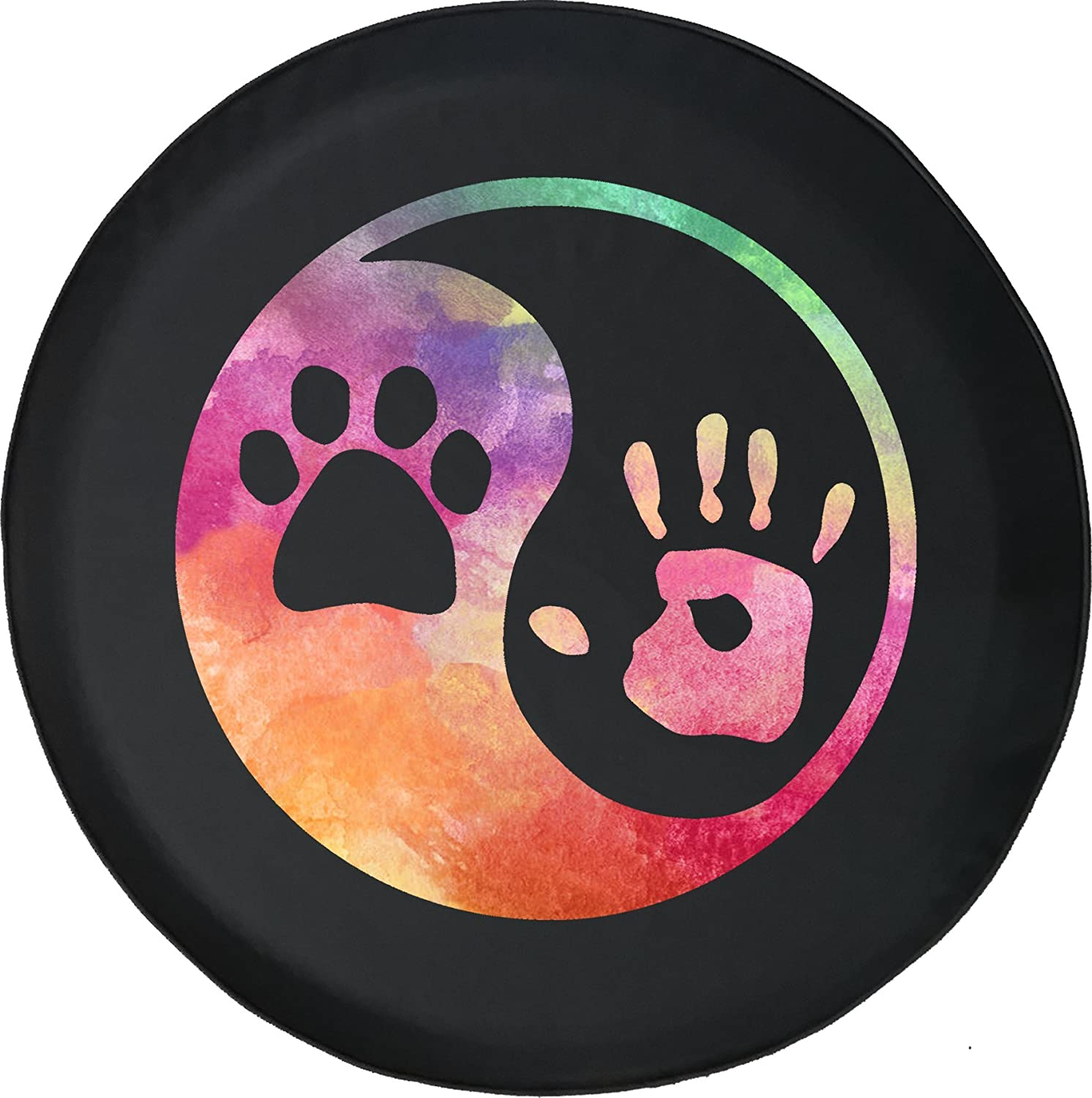 Jeep Girl Sandals Jeep RV Spare Tire Cover Black 32 in American Educational Products Watercolor