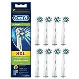 Oral-B Brossettes de Rechange CrossAction pour Brosse à dents électrique Pack de 8