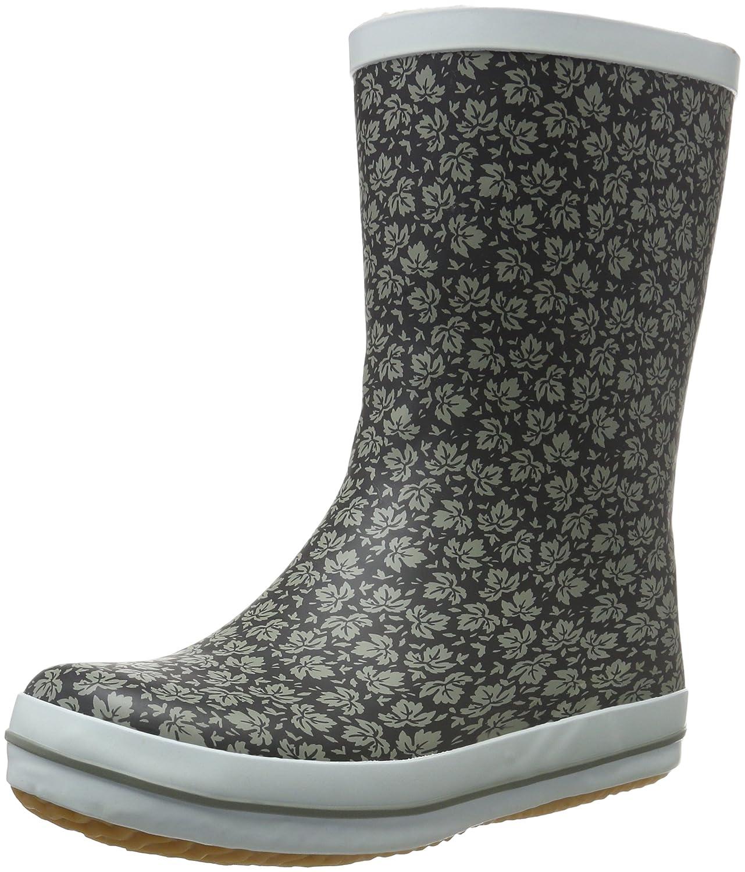 Kamik Women's Shelly Rain Boot B0198WOFS8 11 B(M) US|Black / White