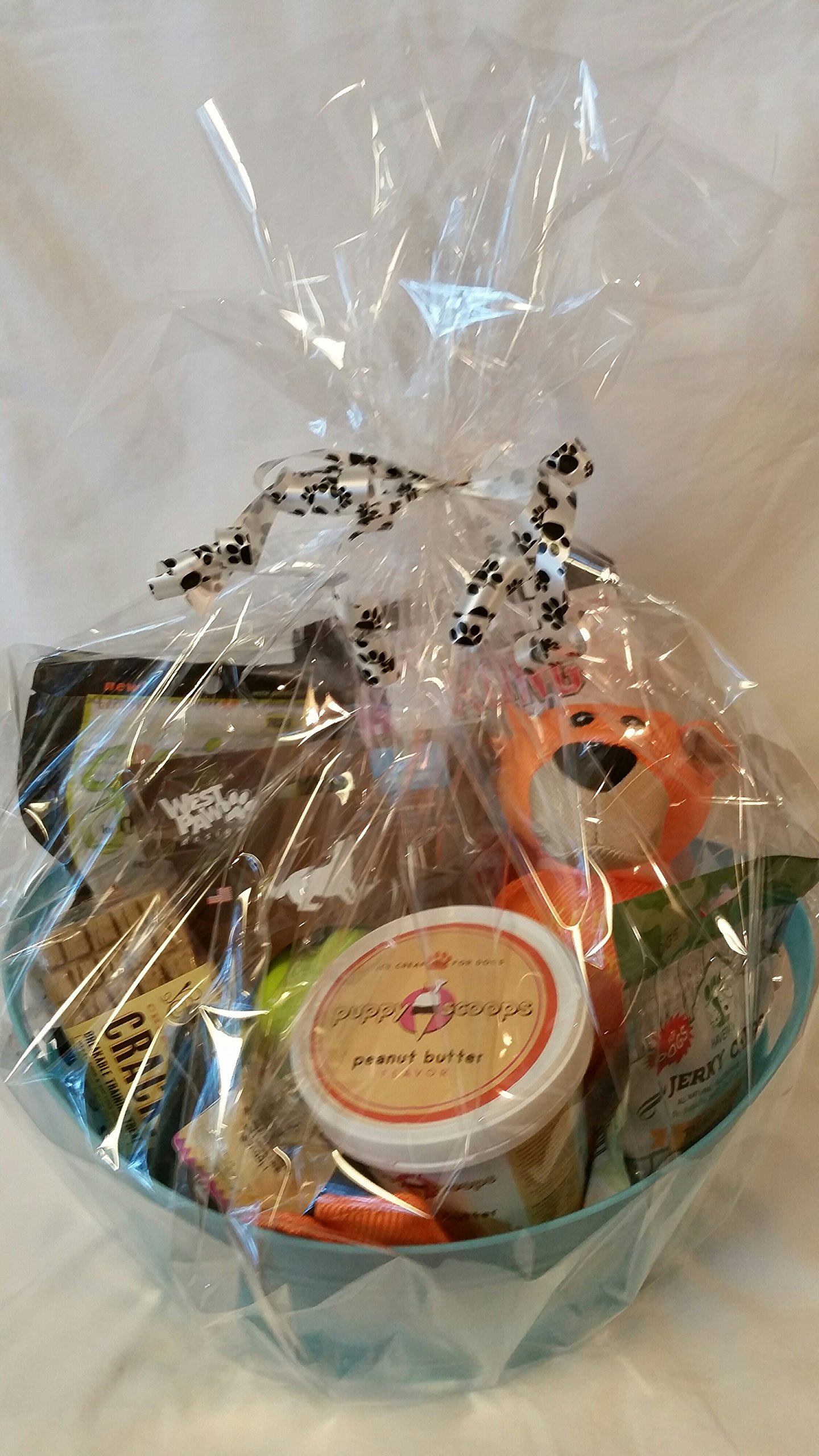 Medium/Large Breed Dog Gift Basket