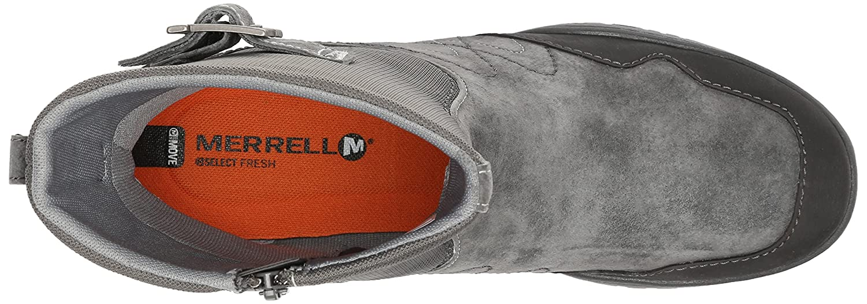Merrell Women's Albany Sky Waterproof Mid Boot B00RDPVRFM 5.5 B(M) US|Granite
