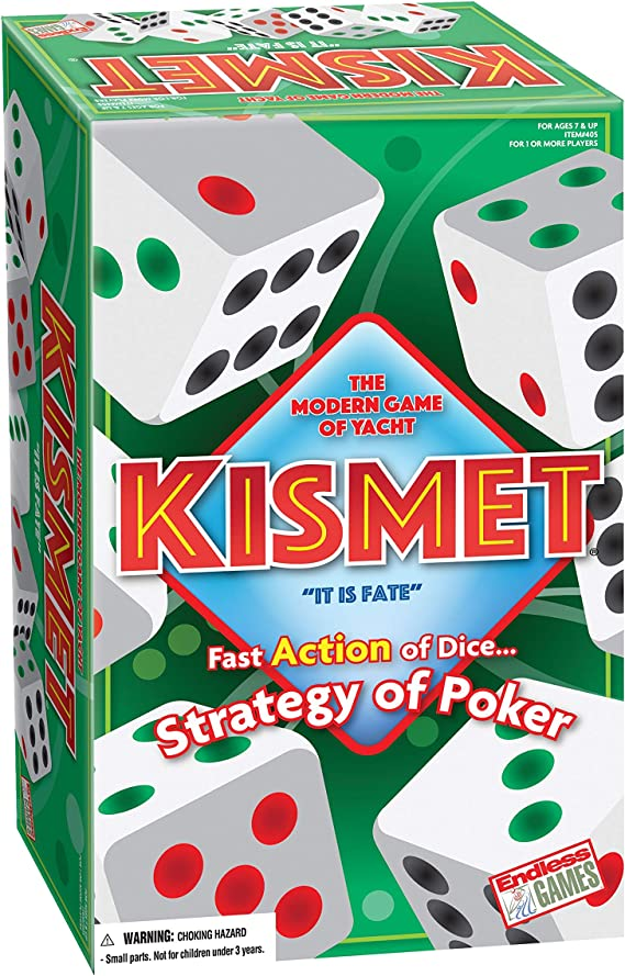 Kismet - The Modern Game of Yacht - Family Board Game