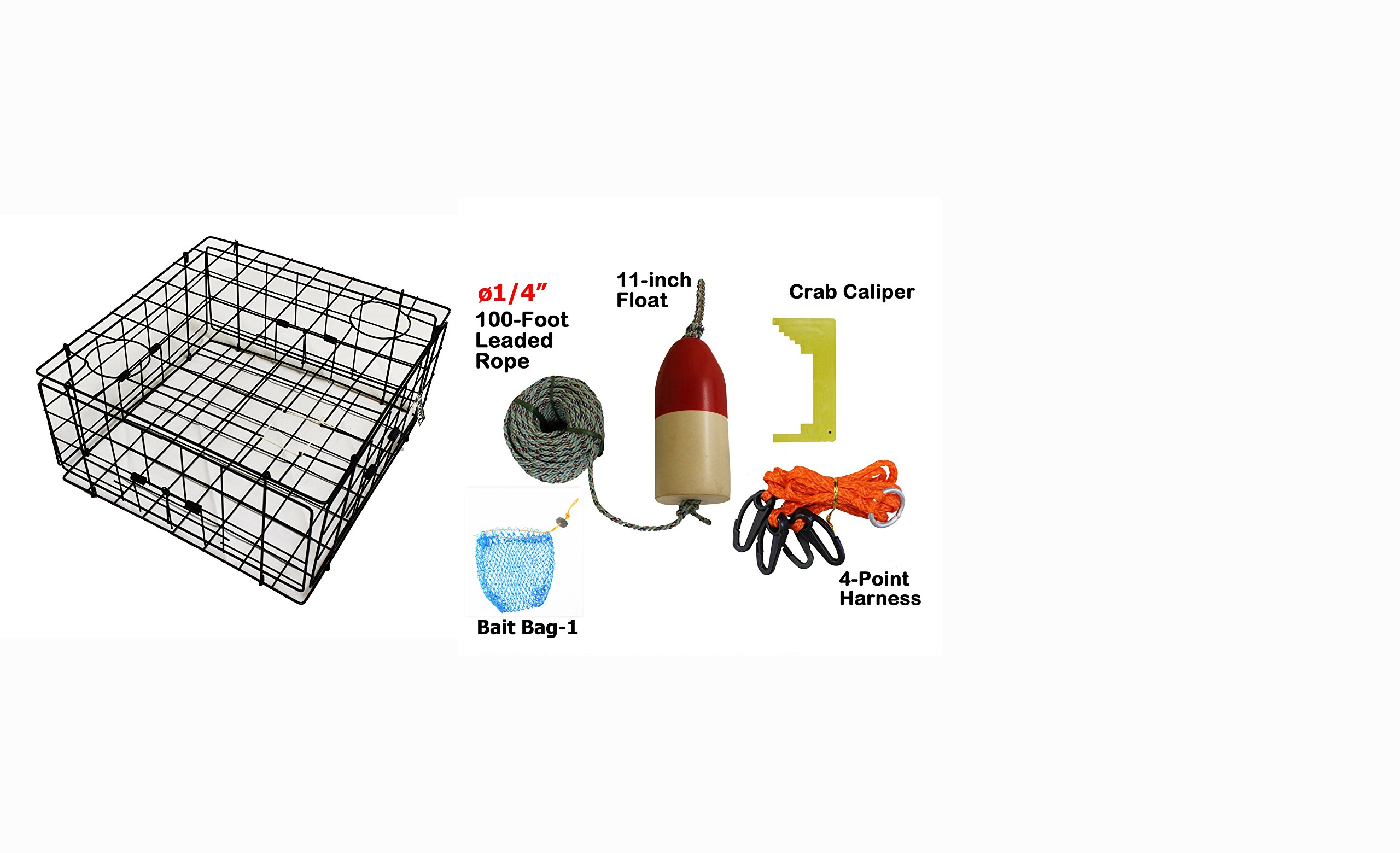 KUFA Sports 48'' 2-Section Flag Pole for Crab & Prawn Traps 2 Sections FLP3 Fishing Marker Buoys