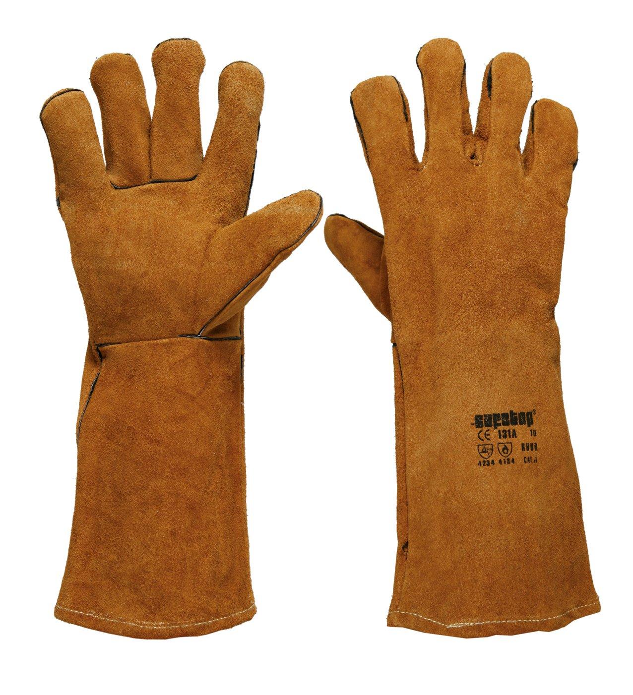 SAFETOP Schweißer-Handschuhe Modell Rhur Größe 10(12-er Pack)