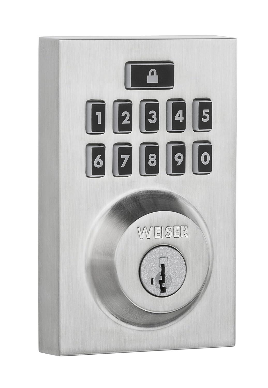 Weiser SmartCode 5 Contemporary Electronic Deadbolt in Venetian ...