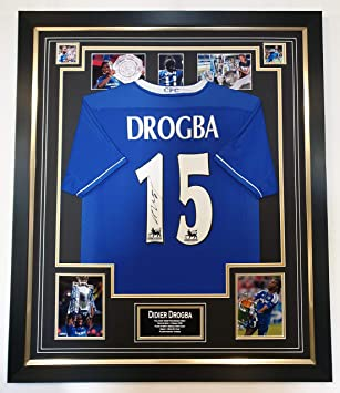 detailed look 7a11f b6276 www.signedmemorabiliashop.co.uk Didier Drogba of Chelsea ...