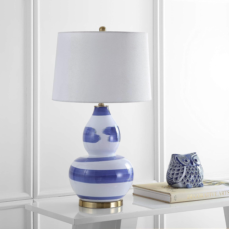 Amazon Com Safavieh Tbl4013b Lighting Collection Aileen Blue And