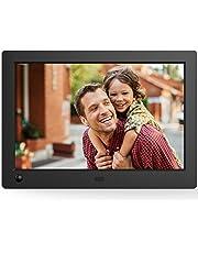 NIX Advance Marco Digital de Fotos y Videos 8 Pulgadas Widescreen X08G. Pantalla IPS. Portafotos Electrónico USB, SD/SDHC. Portarretratos con Sensor de Movimiento