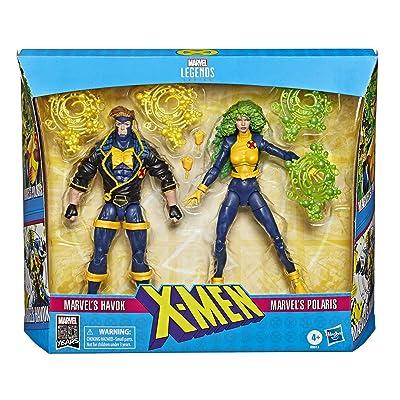 X Men Legends 90s Havok and Polaris 6-Inch Action Figures: Toys & Games