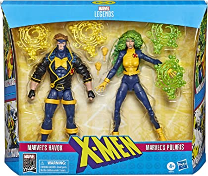 Marvel Classic- Pack 2 figuras X-Men 15 Cm, Multicolor (Hasbro E86135L0) , color/modelo surtido: Amazon.es: Juguetes y juegos