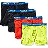 """NAUTICA Men's Competition Comfort 5"""" Boxer Brief Multipack"""