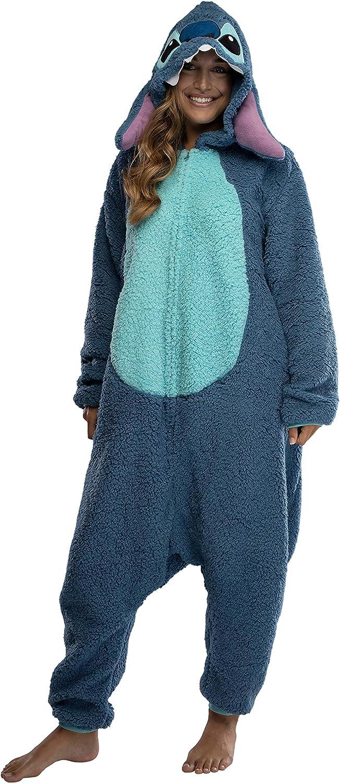 Lilo Stitch Blue Stitch Pajamas Unisex Adult Costume Sleepwear great