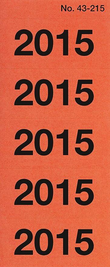 Jahreszahlen Avery Zweckform 2019-10 Stück Nr 43-219