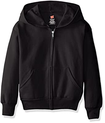 b57347837c789 Amazon.com: Hanes Big Boys' Eco Smart Fleece Zip Hood: Clothing