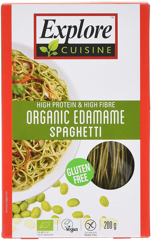 Organic edamame Bean para espaguetis - 200 g: Amazon.es: Alimentación y bebidas