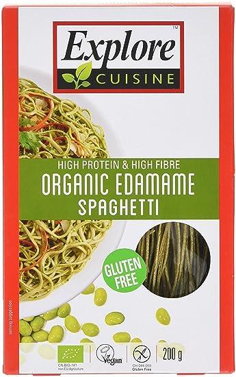 Organic edamame Bean para espaguetis – 200 g