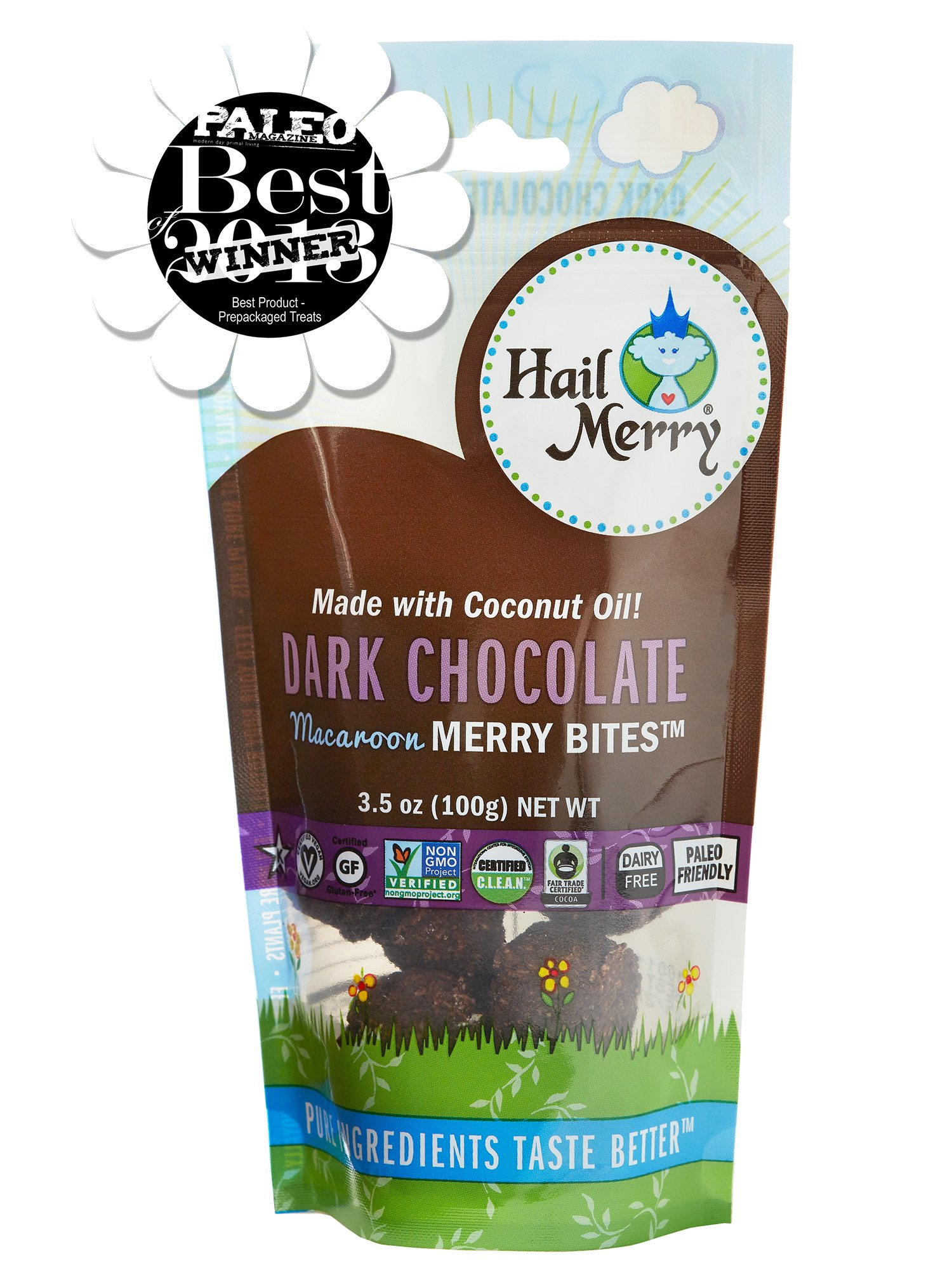 Merry's Choco Macaroons (Pack of 8) by Hail Merry (Image #3)