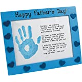 Wooden Father's Day Handprint Frame Craft Kit - Crafts for Kids & Novelty Crafts
