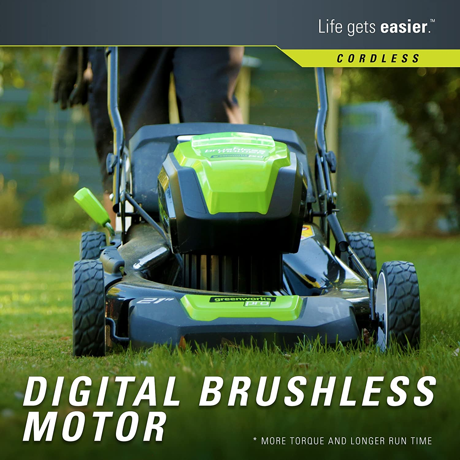 Greenworks GLM801601 Lawn Mower review