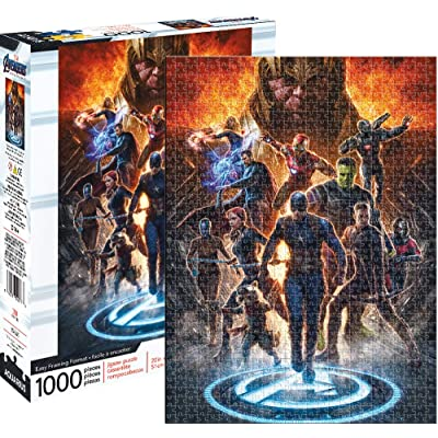 Avengers Endgame Collage 1,000 pc Puzzle: Toys & Games