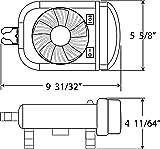 Optronics RVFL51P RV Light/Fan