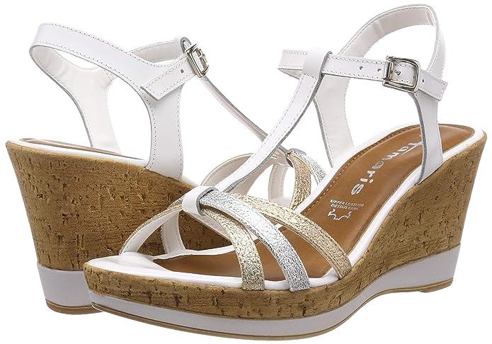 Tamaris Women's 1 1 28347 22 Ankle Strap Sandals: Amazon.co