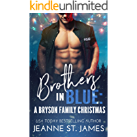 Brothers in Blue: A Bryson Family Christmas book cover