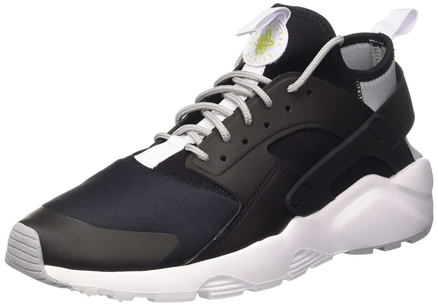 half off 1fa5e e7377 Nike Men s Air Huarache Run Ultra Black White-Wolf Grey Running Shoes-8 ( 819685-014)  Buy Online at Low Prices in India - Amazon.in
