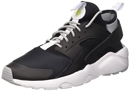 more photos b2ee7 e3eff Nike Men s Air Huarache Run Ultra Black White-Wolf Grey Running Shoes 6 UK