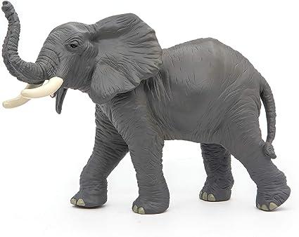 Wild Animal Kingdom African Elephant figure Papo Model 50192