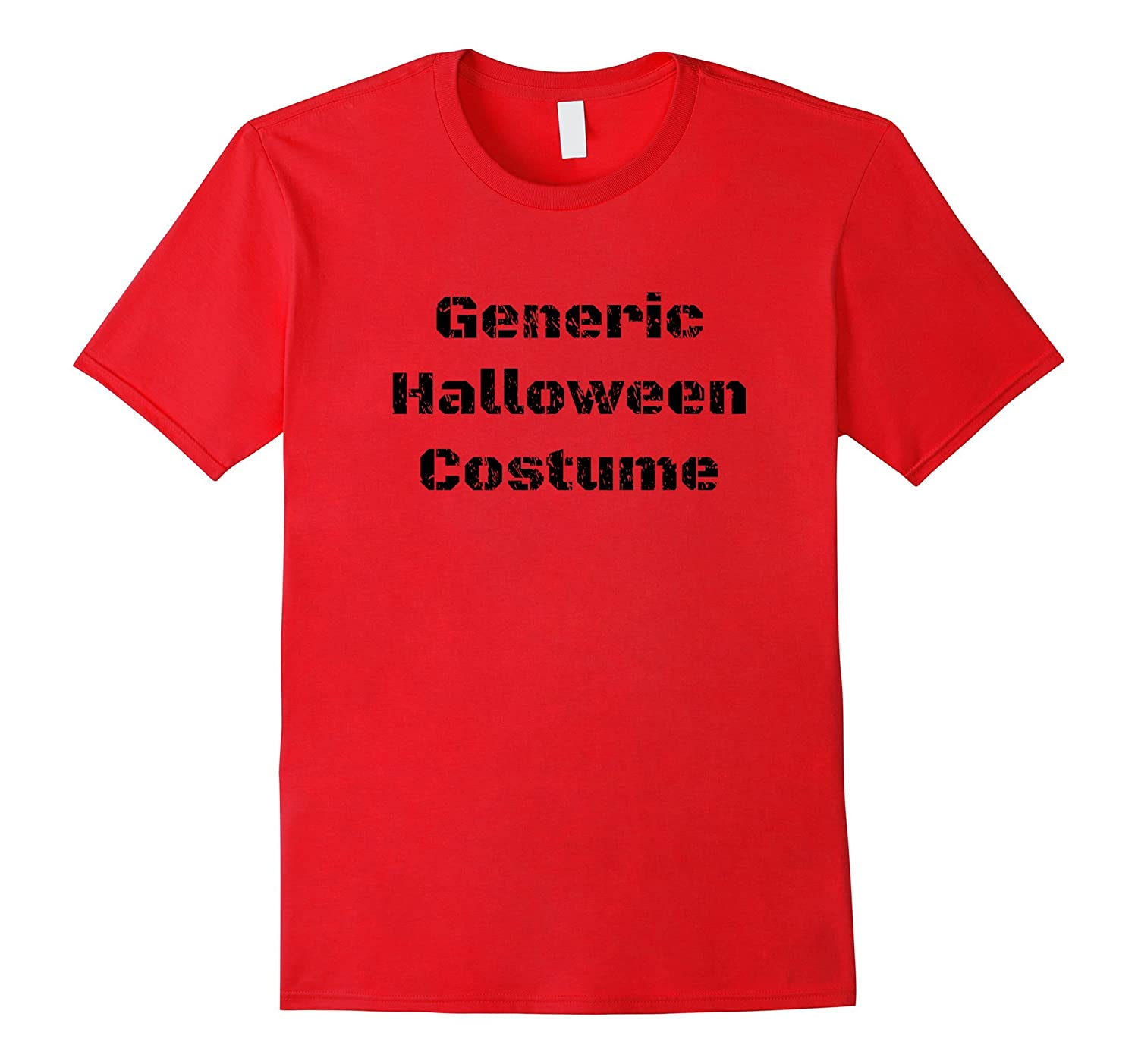 Witty Generic Halloween Costume Tshirt for Men & Women-T-Shirt