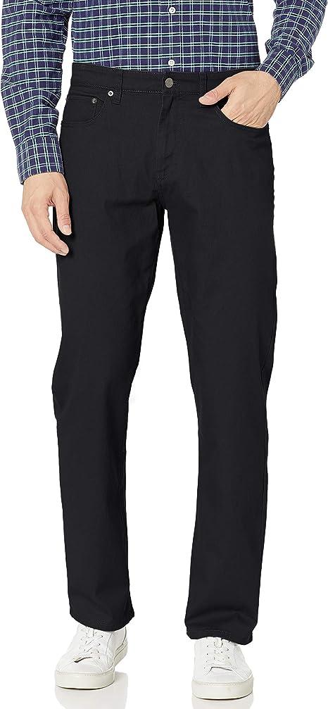 Essentials Slim-Fit 5-Pocket Stretch Twill Pant Uomo