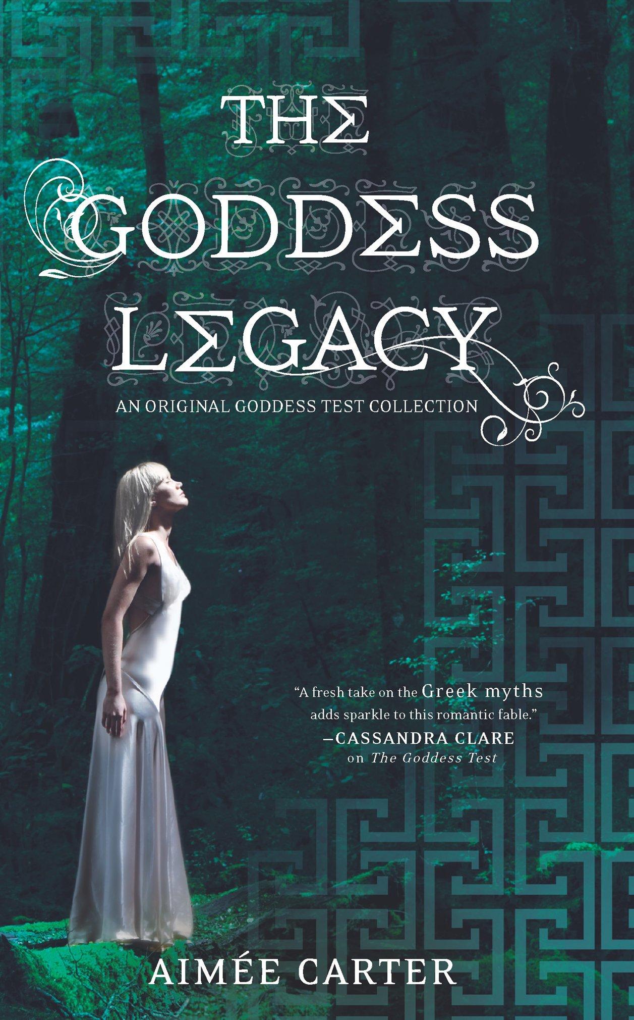 Read Online The Goddess Legacy (The Goddess Queen / The Lovestruck Goddess / Goddess of the Underworld / God of Thieves / God of Darkness (Goddess Test) pdf