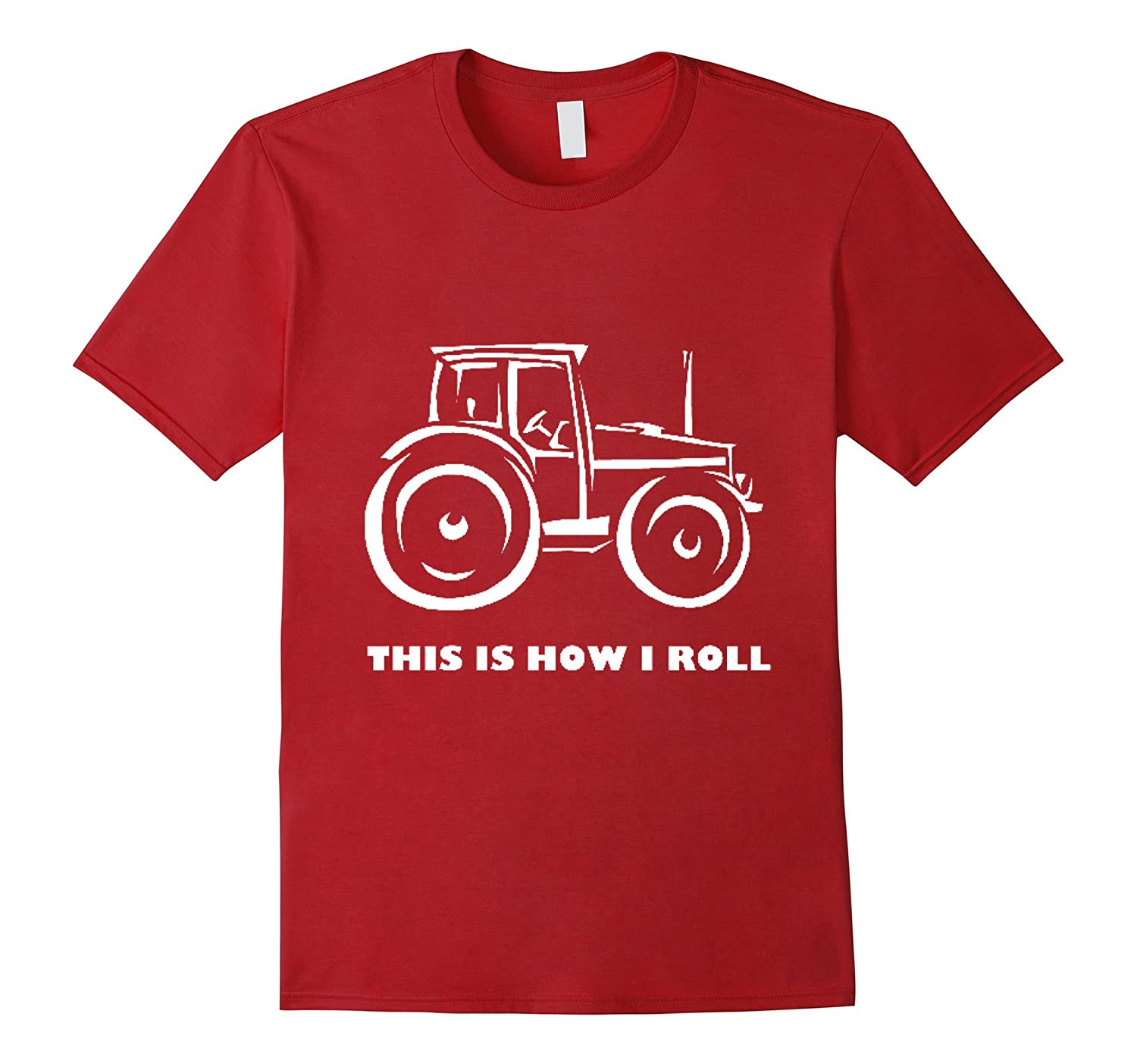 Farmer Tractor T-shirt-CL