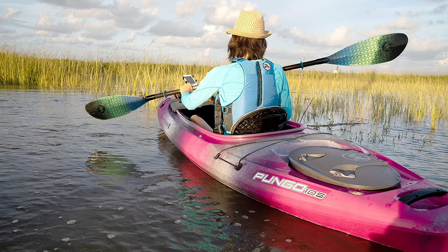 Sit Inside Recreational Kayak 10 6 Features Phase 3 Air Pro Comfort Seating Mango Wilderness Systems Pungo 105