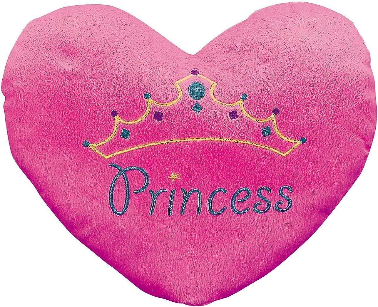 PLUSH PRINCESS HEART PILLOW - Toys - 1 Piece