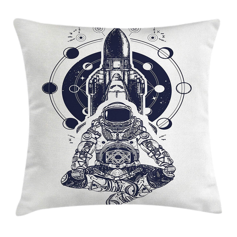 Jxrodekz Funda de cojín de cojín de Fases Lunares, Astronauta del ...